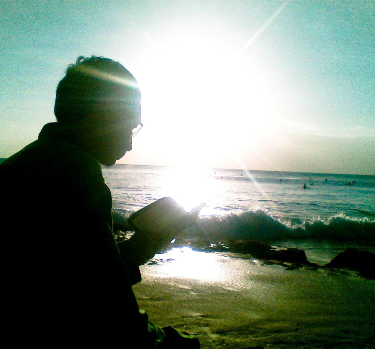 tilawah di pantai